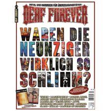 DEAF FOREVER #21 (01/2018 - NEW*GER MAG*D.HAMMER*R.BIZARRE*QUEEN*HOLY TERROR)