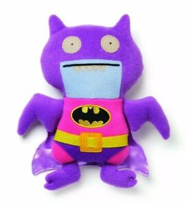 "Uglydoll Ice Bat as BatMan 10"" Tall Plush GUND DC COMICS PINK"