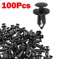 100pcs Fender Bumper Clips Body Rivets For Honda Trx400x Trx350 Trx300 Trx250