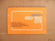 DUCATI BEVEL  860GTS, 900GTS PARTS BOOK FOR 1976-1978 MODELS SEE DESCRIPTION