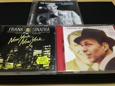 FRANK SINATRA 3-DISCS: THE ESSENTIAL + NEW YORK, NEW YORK + THE COLLECTION (GC)
