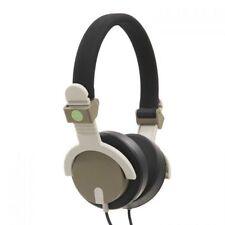 Auriculares verde diadema de audio portátil