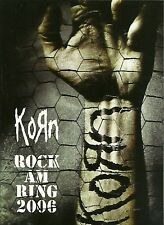 KORN Rock Am Ring 2006 MTV PRO-SHOT DVD Nu Metal