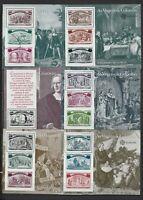 Portugal les 6 blocs Europa Christophe Colomb découverte de l'Amérique neufs**