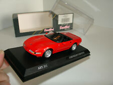 1/43 CHEVROLET CORVETTE ZR-1 CABRIO RED by DETAIL CARS