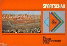 Sportschau des Deutschen Turn und Sportbundes DTSB der DDR 1977