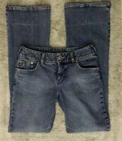 Silver Stretch DV8 Low Rise Boot Cut Medium Wash Blue Jeans Women's 29x32