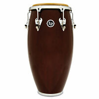 Latin Percussion LP Matador Wood 12 1/2 in Tumba Dark Brown