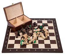 Pro Schach Set Nr. 6  - WENGE - Schachbrett  & Schachfiguren STAUNTON 6
