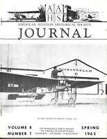 AAHS Spring 63 Bleriot Trainer Moisant School France WWI WWII USS Macon Airship