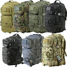 Kombat UK Small Tactical Army Assault Military Molle Back Pack Rucksack 28L