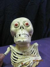Reproduction Spooky Skull Cast Iron Bank
