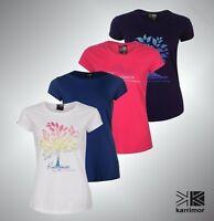Ladies Karrimor Lightweight Short Sleeves Organic T Shirt Top Sizes from 8-20