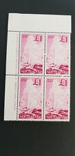Stamps, New Zealand SG 802 Block of 4 printers name .Mint 2 hinge marks on back