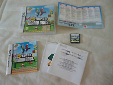 nintendo  DS new mario bros completo complete  new code   game gioco