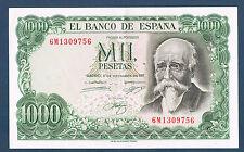 BILLET de BANQUE D'ESPAGNE 1000 PESETAS Pick n°154 du 17-9-1971 en SPL 6M1309756