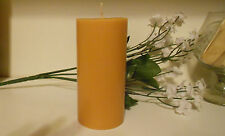 One, 8 oz. Abercrombie & Fitch type Scented Pillar Candle, Ivory, Home Decor