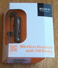 Sony MW-600 wireless headset w/ FM radio NEW IN BOX selling as-is FREE SHIPPING