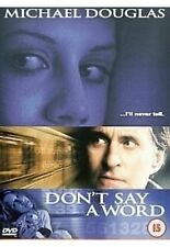 Don't Say A Word Michael Douglas, Sean Bean Brand New Sealed DVD