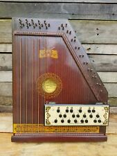 Vintage 1920' s Paramount Radio Concert Harp Dulcimer Zither w/ box and music