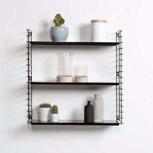 Tomado Libro Scandi Bookcase Storage Unit Display Shelving Furniture Black NEW