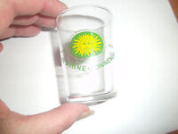 SCHMITT SOHNE SONNENQUALITAT SHOT GLASS LONGUICH MOSEL SUN SHOT GLASS