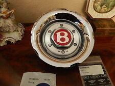 "Bentley Mulliner S.C. Wheel Cap Center Chrome Wheel 9.5""x 18"" New NLA"