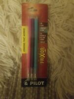 Pilot Frixion Fine 0.7mm Assorted Gel Ink Set Of 3