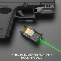 USB Rechargeable Green Laser Sight with Constant Pulse Output Picatinny Rail
