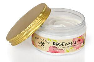 Pre de Provence, ROSE de MAI BODY CREAM (200ml-6.7fl oz)  European Soap Co.