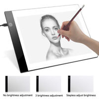 A4 USB/LED Artist Tattoo Stencil Board Light Box Tracing Drawing Board Pad Table
