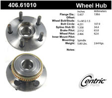 Wheel Bearing and Hub Assembly-Premium Hubs Front Centric 406.61010