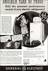 1934 vintage appliance AD G.E. Monitor Top Electric Refrigerators $77.50 071921 photo