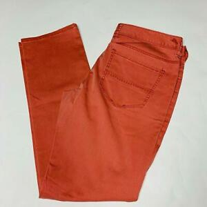 Tommy Bahama Mens Jeans Size 34 Waist 32 Inseam Red 5 Pocket Jeans New