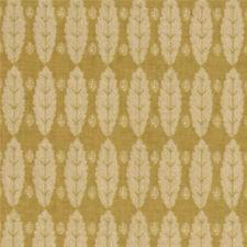 Anna Griffin Jolie Feuille Leaf Leaves Fabric in Cornflower Mustard CF2404-2