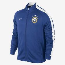 NIKE BRAZIL AUTHENTIC N98 JACKET FIFA WORLD CUP 2014 Blue