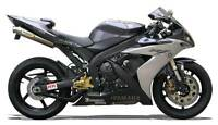 Echappement Paire de Silencieux Titane Racing Yamaha R1 2004 Slip-On Exhaust