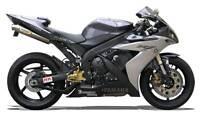 Echappement Paire de Silencieux Titane Racing Yamaha R1 2006 Slip-On Exhaust