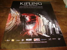 KIPLING - PUBLICITE LIVES AND WALLS !!!!!!!!!!!!!!!