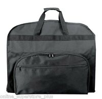 "39"" Business Garment Bag Cover for Suits and Dresses Clothing Foldable w Pockets"