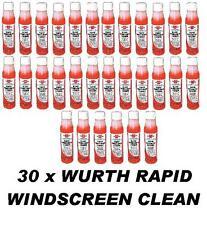 30 x WURTH Rapide Pare-brise Nettoyant 32ml concentré Lave Glace marques 75-90lt