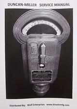 Duncan Miller Model 50 Parking Meter Service Manual, 28 pages