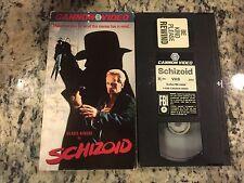 SCHIZOID RARE CANNON VIDEO VHS KLAUS KINSKI, CHRISTOPHER LLOYD HORROR SLASHER!