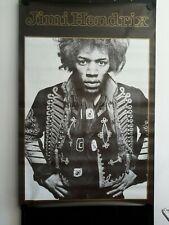 "Jimi Hendrix, Uniform, Giant Vintage Poster, 39x55"" FREE INT.SHIPPING"