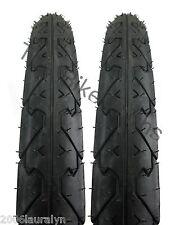 "Kenda K838 City Slick Bike Tire Pair 26 X 1.95""  Wide Mountain Cruiser Commuter"