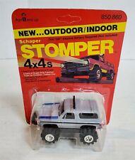 Mn108 Mint On Card Vintage 80'S Stomper Gray Chevy Blazer 4X4 Nos Find!