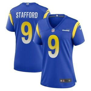 New 2021 NFL Matthew Stafford Los Angeles Rams Nike Women's Player Game Jersey