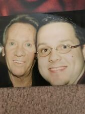 """Bobby Hatfield + Bill Medley signed 8.5""""X11"""" pic with proof Righteous Brothers"""