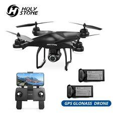 Holy Stone HS120D GPS RC Drohne mit 2K HD Kamera FPV Quadrocopter Drone 2 Akkus