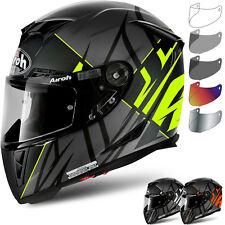 Airoh Helmet Gp5se31 INTEGRALE GP 500 Sectors Yellow Matt L